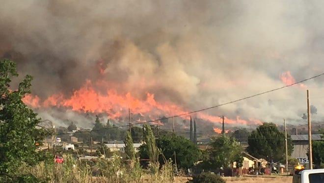 Tenderfoot Fire near Yarnell.