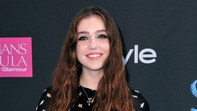 """Birdy attended Monday's premiere of """"The Fault in Our Stars."""""""