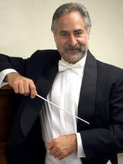Bremerton Symphony Orchestra music director Alan Futterman poses for a portrait at the symphony office in Bremerton on Thursday, October 8, 2009. MEEGAN M. REID |  KITSAP SUN