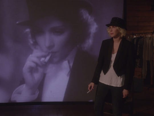 """Laurie Simmons in a scene from """"My Art."""""""