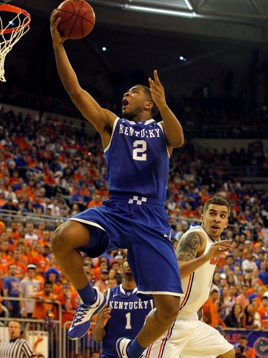USP NCAA Basketball_ Kentucky at Florida
