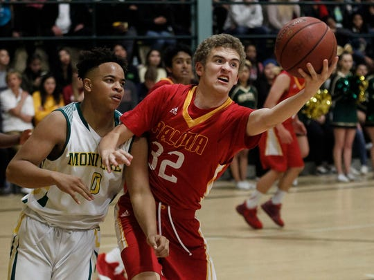 Palma's Colin Neff (32), shown here as a sophomore, has developed into the top scorer for the Chieftains this season.
