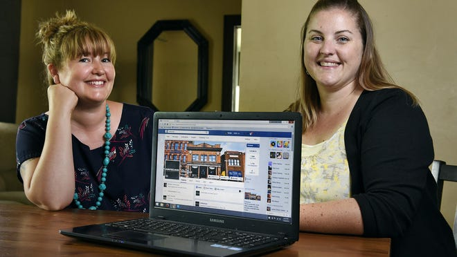 Kelly Meyer and Natalie Ringsmuth talk Sunday about using social media as a tool to fight racism in St. Cloud.