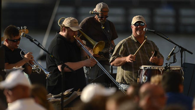 A fixture on the Green Bay and Door County music scenes for more than 20 years, Big Mouth & The Power Tool Horns play to one of the biggest Fridays on the Fox crowds of the summer last month on CityDeck along the Fox River.
