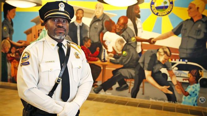 Daytona Beach Police Sgt. Michael Bryant at the department in Daytona Beach, Friday, June 19, 2020.