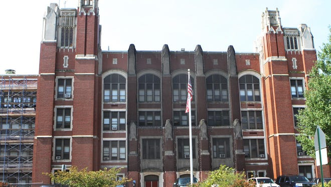 Teachers at Mount Pleasant High School, in Providence, have launched a petition calling for the return of two principals.