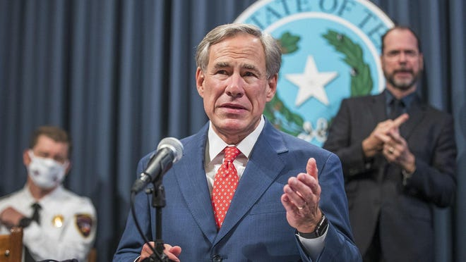 Texas Gov. Greg Abbott on Thursday announces the expanded reopening of many Texas businesses in most of the state. Abbott, however, said bars will remain closed.