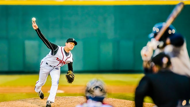 Chase De Jong, who was Lansing's opening day starter, was traded to the Los Angeles Dodgers on Thursday.