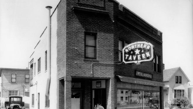 The Northern Star tavern, located at 1914 Calumet Drive in Sheboygan was built as a furniture store in 1922.