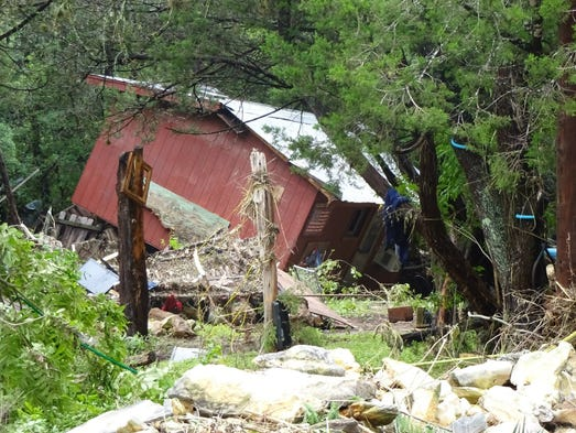 A closer look at flood damage in Hays County.
