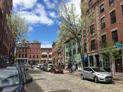 Faceoff portland ore vs portland maine - Portland maine hotels old port district ...