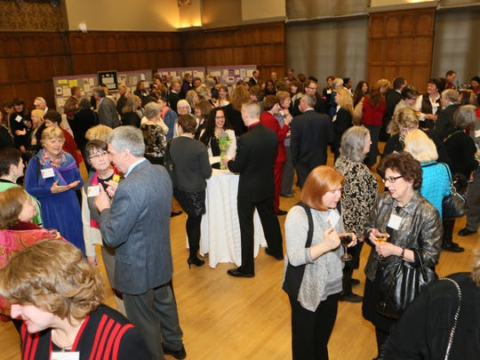 YWCA Salute to Women guests enjoy time to socialize.