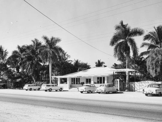 Everglades Wonder Gardens in the 1950's. The city of