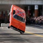 Photos: 'Dukes of Hazzard' car jumps ramp, crash lands