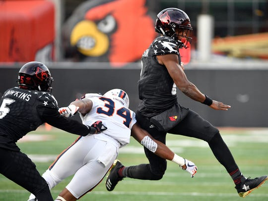 Lamar Jackson will need to learn to play more from