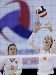 Senior Maddie Berezowitz is a returning all-state player for defending Division 1 state champion Burlington.