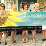 """The cast of Lab Theater's """"Calendar Girls"""""""