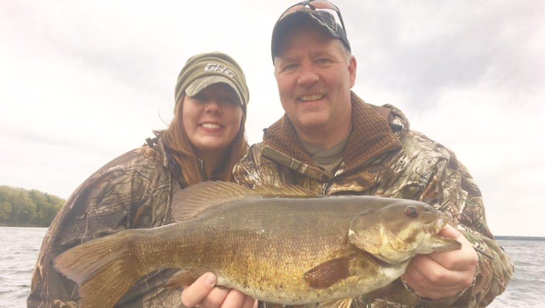 Hayward chequamegon bay fishing reports for may 23 for Mobile bay fishing report