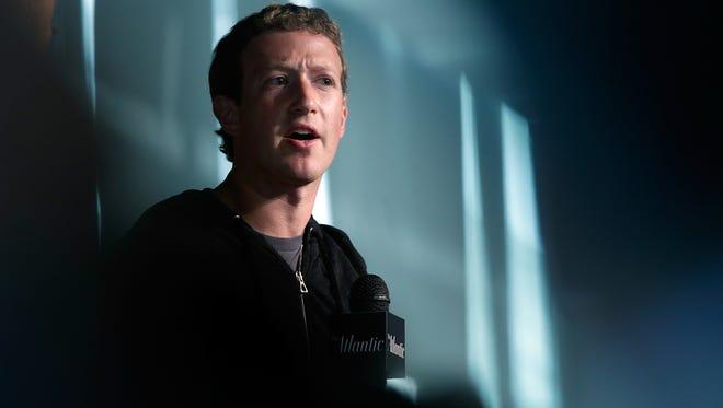 Facebook CEO Mark Zuckerberg speaks at the Newseum Sept. 18, 2013 in Washington, DC.