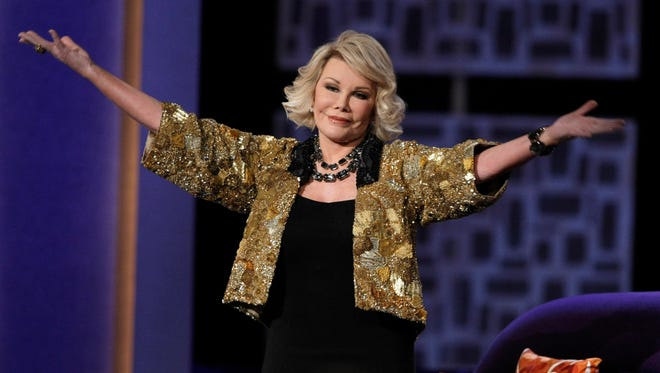 Joan Rivers died at 81 on Thursday.