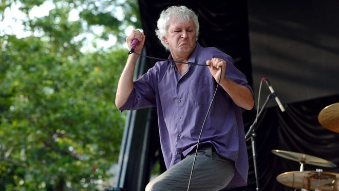 Robert Pollard of Guided by Voices onstage at 2012 CBGB Festival At SummerStage In Central Park on July 7, 2012 in New York City.