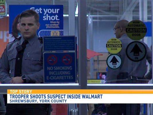 Walmart police shooting
