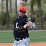 Tigers' Alex Wilson doesn't want to be 'worst spring training pitcher'