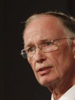 Sen. Rusty Glover of Semmes said he talked with Gov. Robert Bentley (pictured) about Alabama possibly switching to the Eastern Time Zone and then opting out of daylight savings time. That would be the equivalent of staying on daylight saving time all the time in the Central Time Zone, but that wasn't feasible.