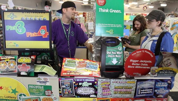 A New Jersey Lottery purchase in Somers Point.
