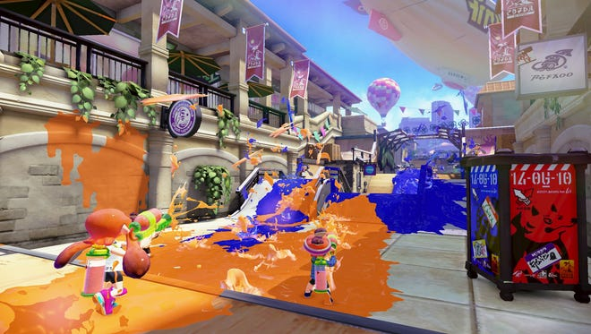 Nintendo shooter Splatoon makes a visit to the mall fun even for folks who hate shopping.