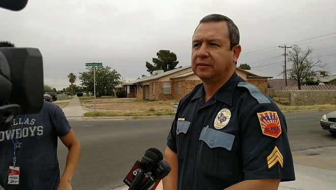 EPPD spokesman Sgt. Enrique Carrillo