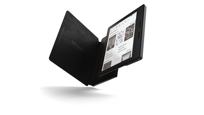 Kindle Oasis with charging cover
