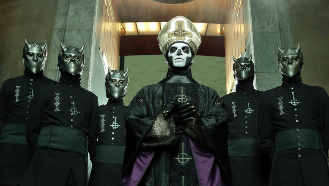 Ghost, a Swedish metal band, is performing at the Mercury Ballroom May 11.