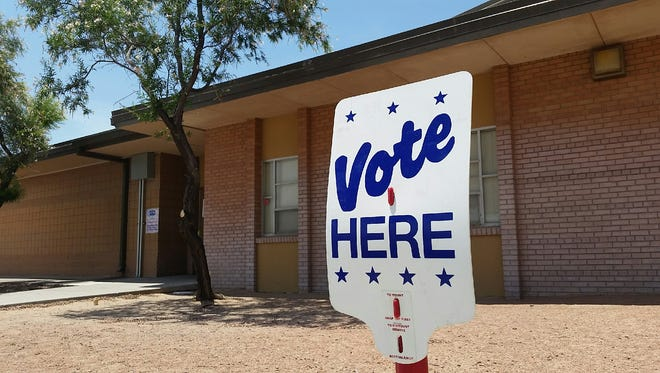 Voters reported a smooth process at the Jornada Elementary School polling site on Tuesday.