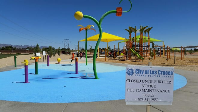 City officials announced Tuesday the Metro Verde Park splash pad will reopen in time for the weekend.