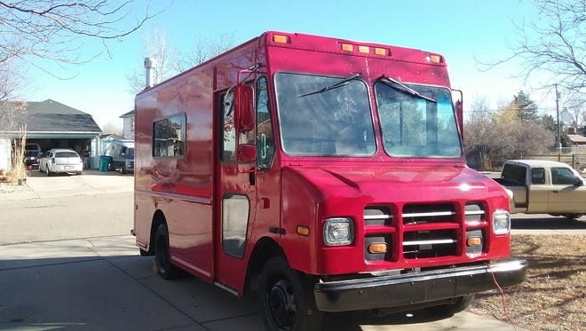 La Pompeii is a new Northern Colorado food truck made out of a repurposed Fed Ex delivery truck.