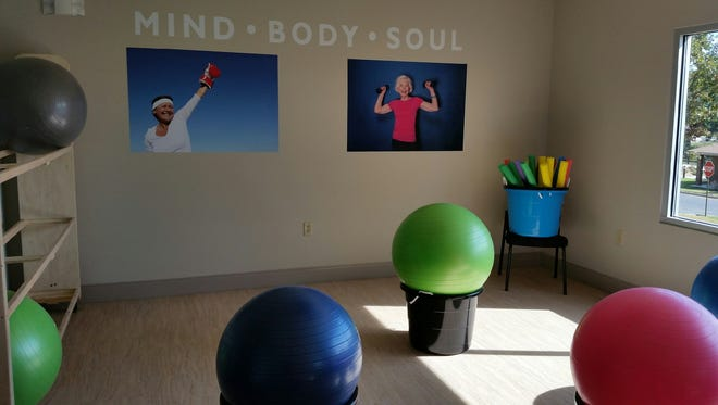 State-of-the-art equipment will allow participants to utilize smart-touch technology in their workouts at Good Samaritan's Heinz-Willett Center.