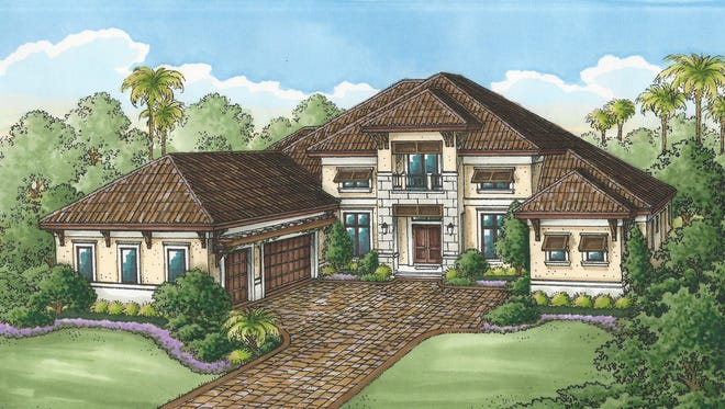 The Muirfield V, by Stock Signature Homes, is priced at $1,399,990, unfurnished