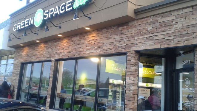 GreenSpace & Go is on the west side of Woodward Ave., just south of 14 Mile in Royal Oak.