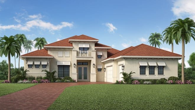 The Gardenia II, priced at $1,874,205, is one of four unfurnished inventory homes available for immediate purchase at Quail West.