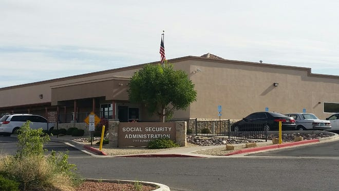 The Social Security Administration office is located at 2141 Summit Court, Las Cruces.
