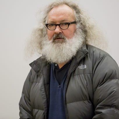 Randy Quaid after his Vermont arrest.