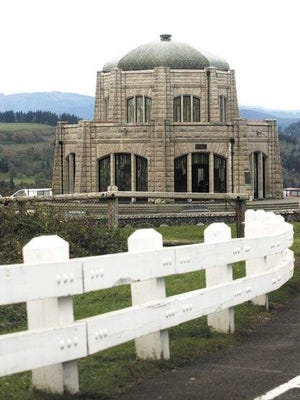 Visitors can learn about the building, the highway, the Gorge, local history, sights to see and the flora and fauna inside the Vista House.