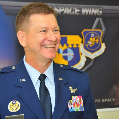 The 45th Space Wing Change of Command ceremony took