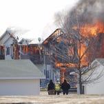 Beaver Dam apartment burn a success; some personal items retrieved by bomb squad