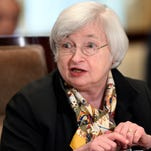 Federal Reserve Chair Janet Yellen testifies on Capitol Hill in July.