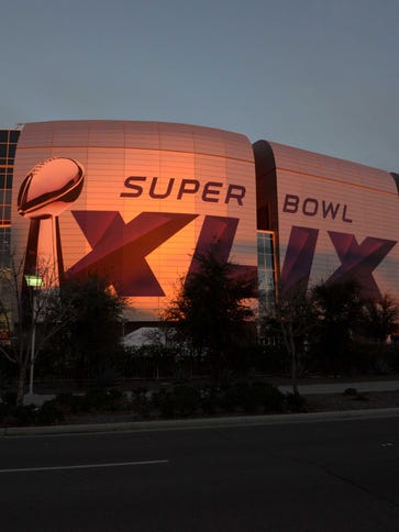 Super Bowl XLIX against the Seattle Seahawks and New