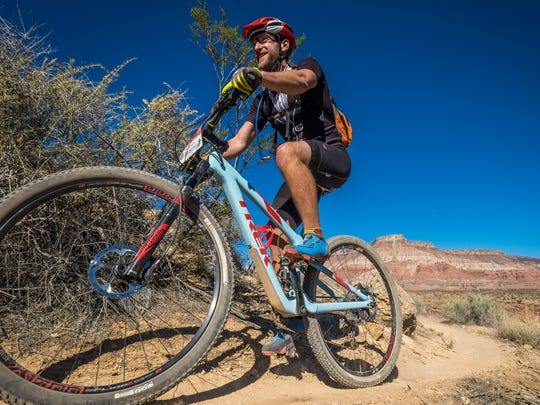 In what is considered one of the ultimate tests of physical endurance, hundreds of cyclists will converge in the shadows of Zion National Park in the 8th annual 25 Hours in Frog Hollow race set for Nov. 5 in Virgin, Utah.
