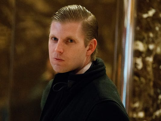 AP ERIC TRUMP A FILE USA NY