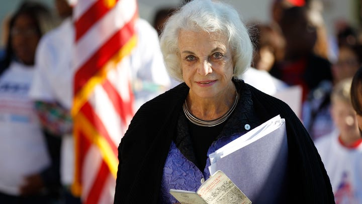 Sandra Day O'Connor in September 2011.